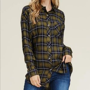 Tunic flannel